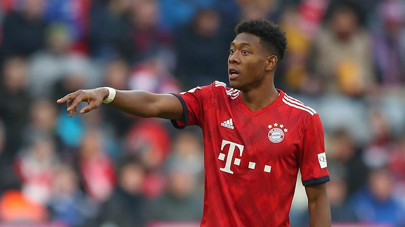 Alaba absent for Bayern as partner prepares to give birth