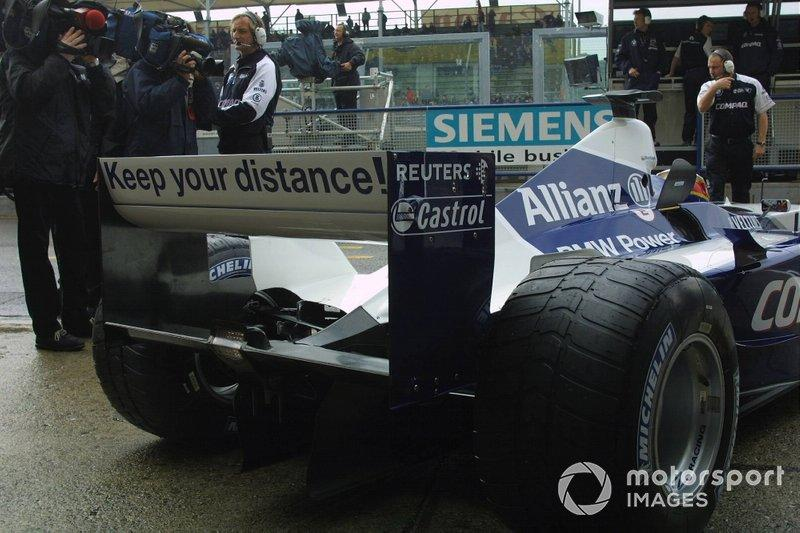 "Juan Pablo Montoya, Williams FW23 BMW <span class=""copyright"">Sutton Motorsport Images</span>"