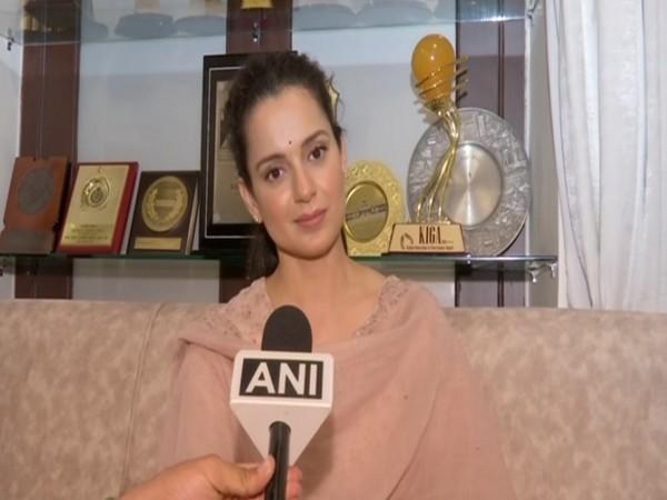 Actor Kangana Ranaut (Photo/ANI)