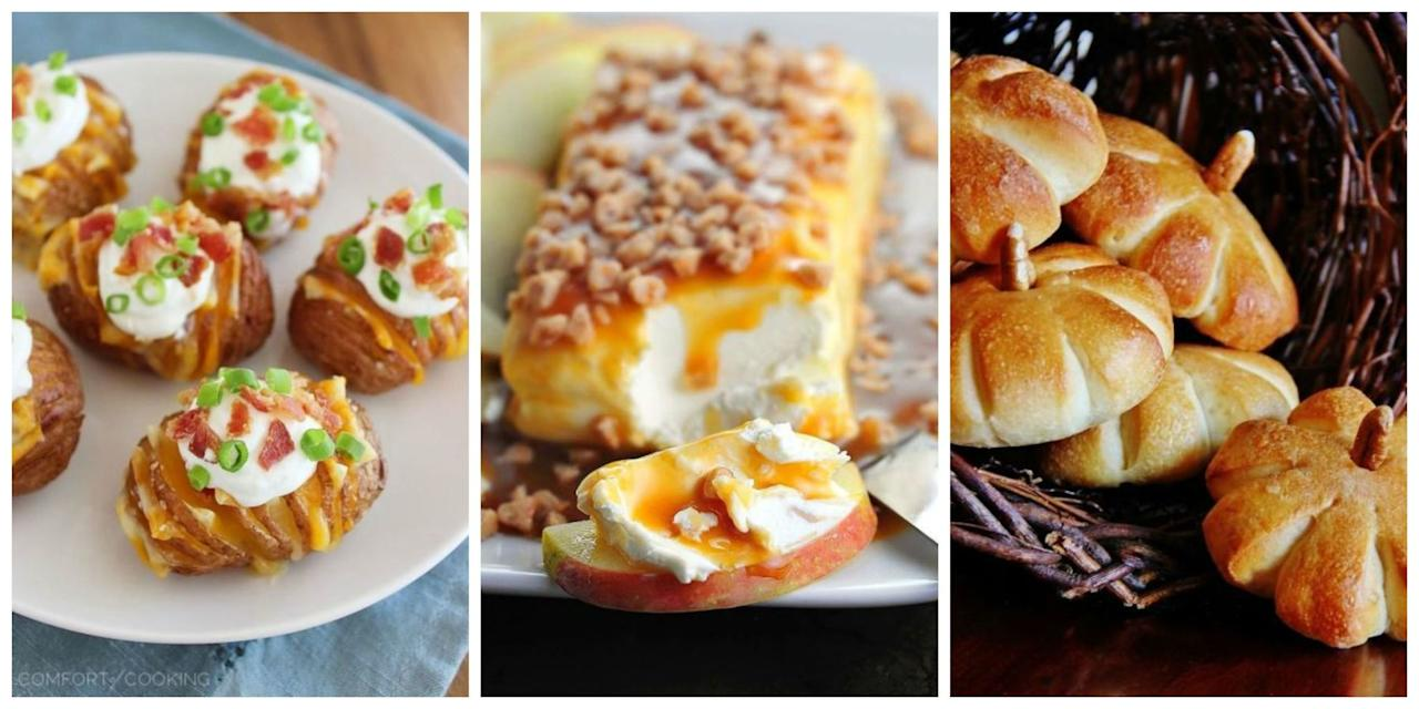 """<p>Kick of your <a rel=""""nofollow"""" href=""""http://www.womansday.com/thanksgiving-recipes/"""">Thanksgiving dinner</a> with these delicious ideas for Turkey Day appetizers.</p>"""