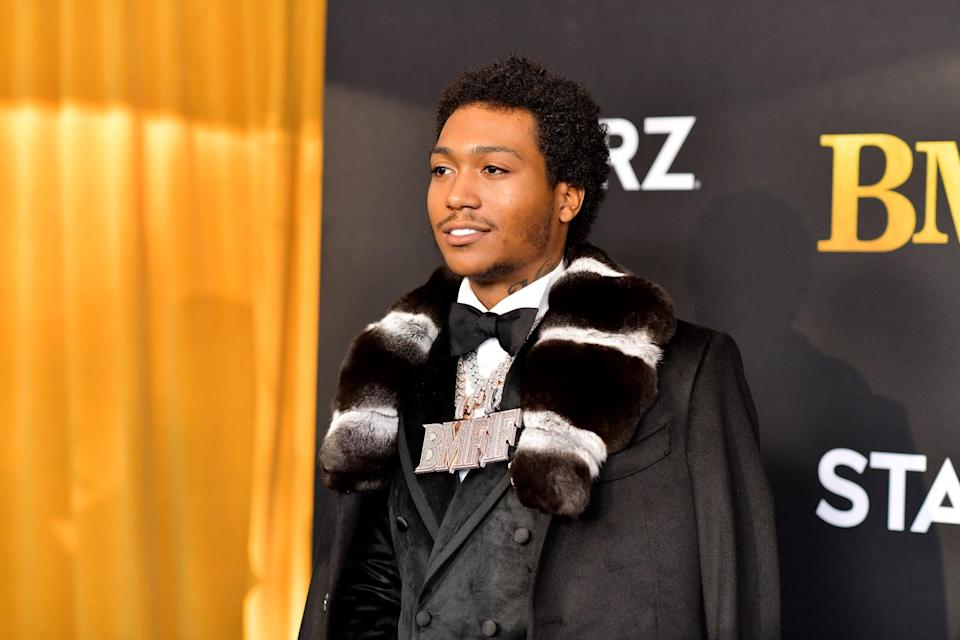 """<p>Not only does the young actor star in the show about his family's legacy, but he's also had the opportunity to produce two episodes of the series so far. Demetrius <a href=""""https://www.imdb.com/name/nm12733881/"""" class=""""link rapid-noclick-resp"""" rel=""""nofollow noopener"""" target=""""_blank"""" data-ylk=""""slk:has producing credits"""">has producing credits</a> for the show's first and third episodes, so it'll be interesting to see how else he continues to help bring this story to life.</p>"""