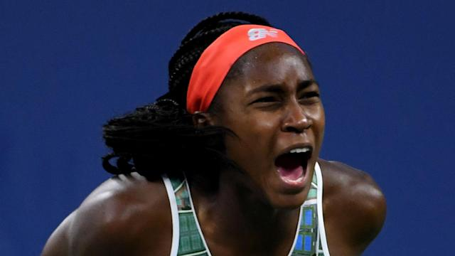 Coco Gauff was beaten in qualifying at the start of this week in Linz, but could claim her maiden WTA Tour singles title on Sunday.