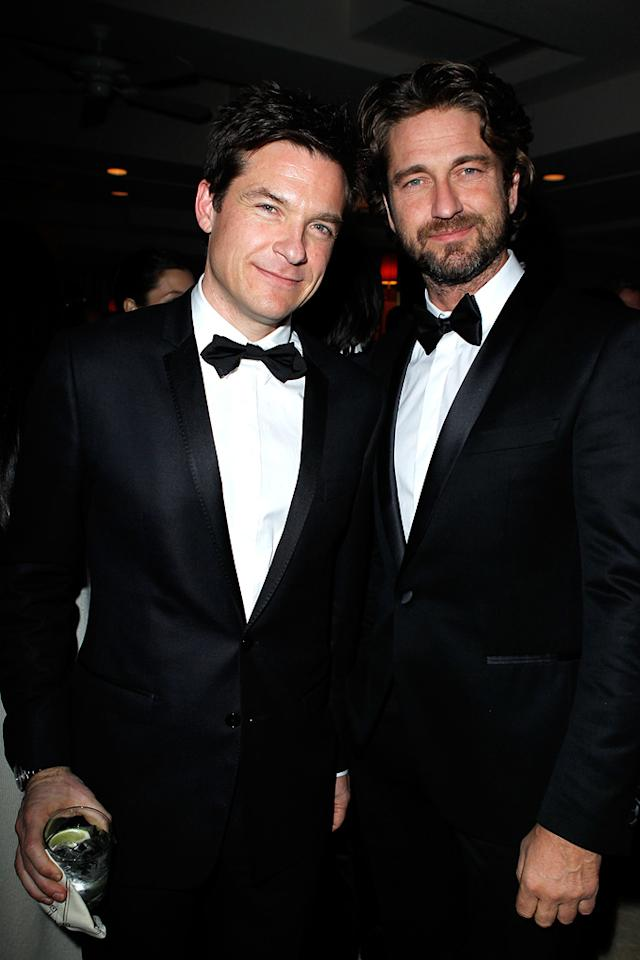Two of the night's dapperest dudes ... Jason Bateman and Gerard Butler, who both rocked bow ties!