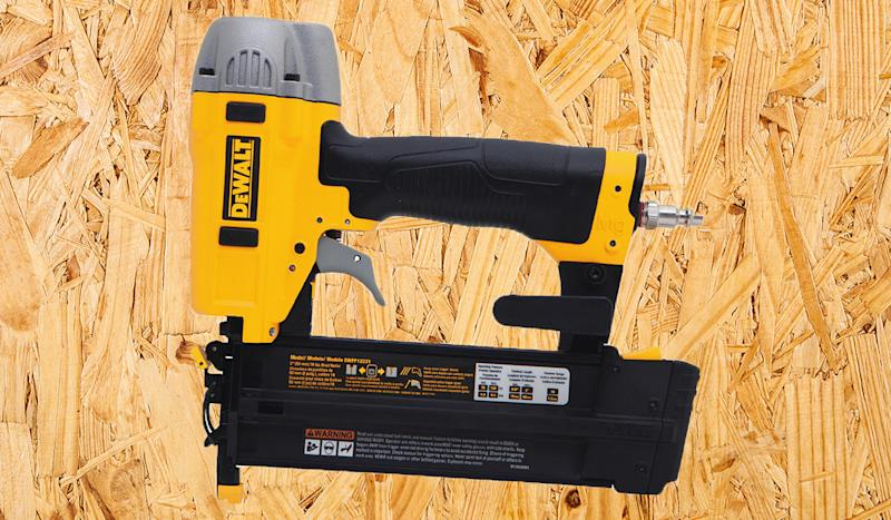 This nailer is backed by a three-year warranty. (Photo: Home Depot)
