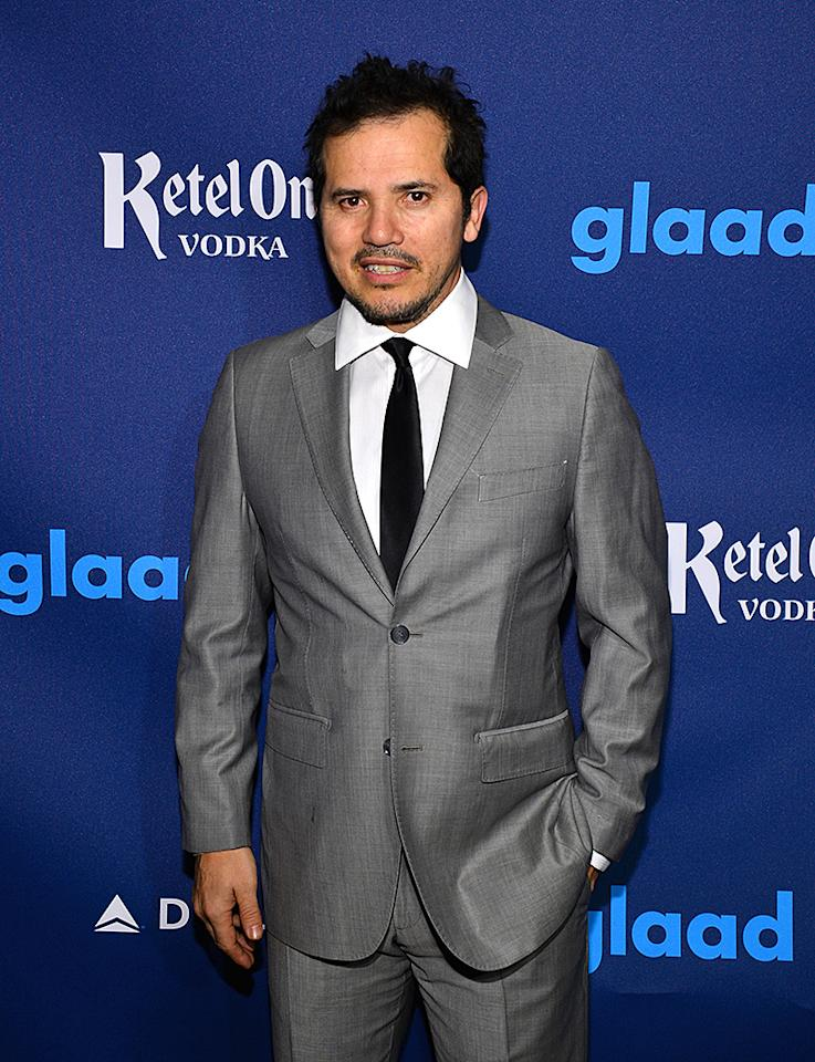 NEW YORK, NY - MARCH 16:  Actor John Leguizamo attends the 24th Annual GLAAD Media Awards on March 16, 2013 in New York City.  (Photo by Larry Busacca/Getty Images for GLAAD)