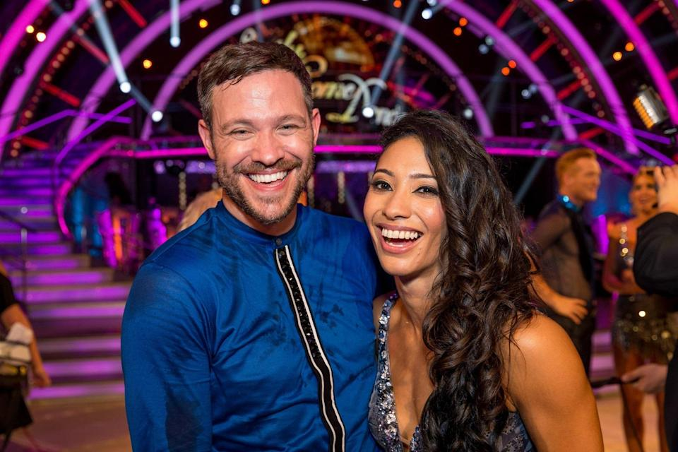 Will Young did not get backlash from the LGBT+ community when he danced with a woman. Copyright: [BBC]