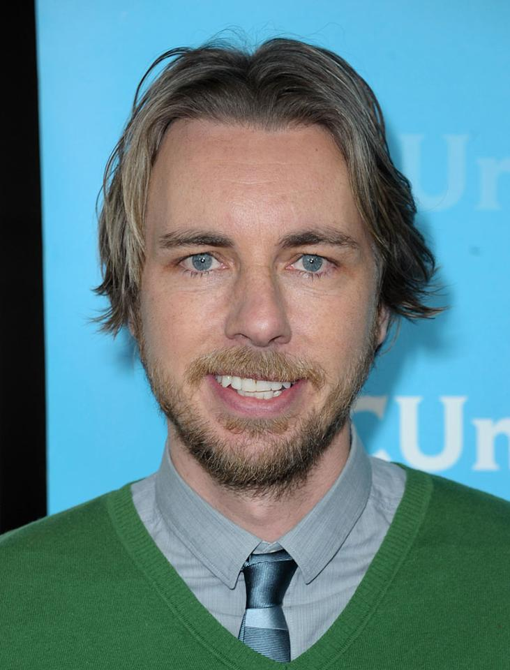 "<a href=""/dax-shepard/contributor/1156288"">Dax Shepard</a> (""<a href=""/parenthood/show/44718"">Parenthood</a>"") attends the 2012 NBC Universal Winter TCA All-Star Party at The Athenaeum on January 6, 2012 in Pasadena, California."