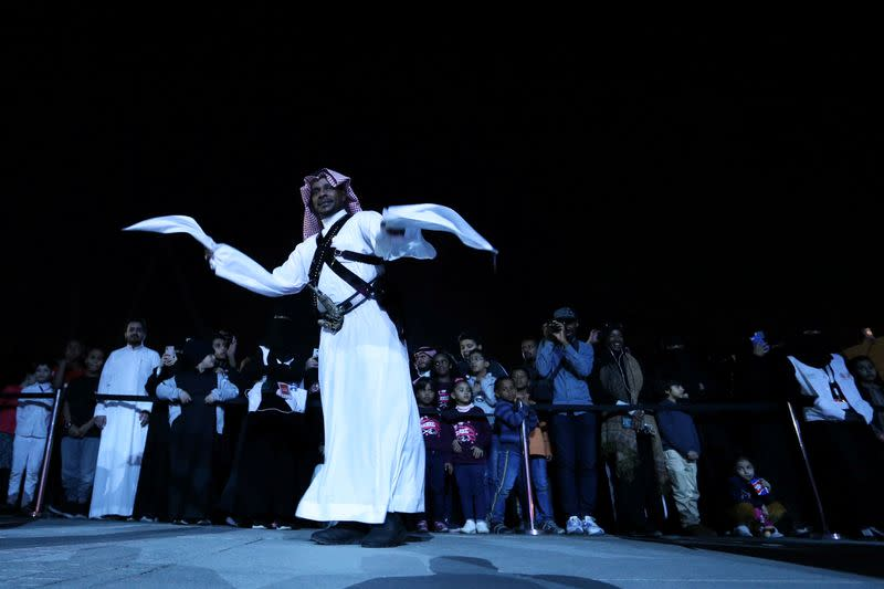 """Former execution site turned into cultural showcase titled """"Riyadh's Pulse\"""