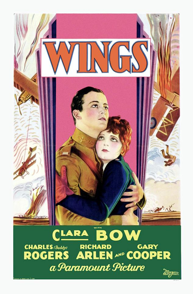 "1929 The first Academy Award winners were announced on this day. Unlike the pomp and circumstance that goes with today's announcements, the names of the first recipients were printed on the back page of the academy's newsletter. And the winner for best picture was ... William A. Wellman's ""Wings"" (1927), about two World War I fighter pilots in love with the same girl."