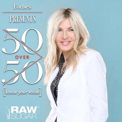 Donda Mullis, CoFounder & CMO of Raw Sugar Living, named to Forbes 50 Over 50 list