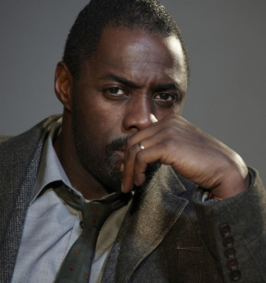 """Outstanding Actor in a Miniseries or Movie: Idris Elba, """"Luther"""""""