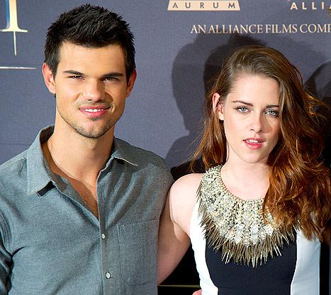 Taylor Lautner Celebrates 21st Birthday With Kristen Stewart