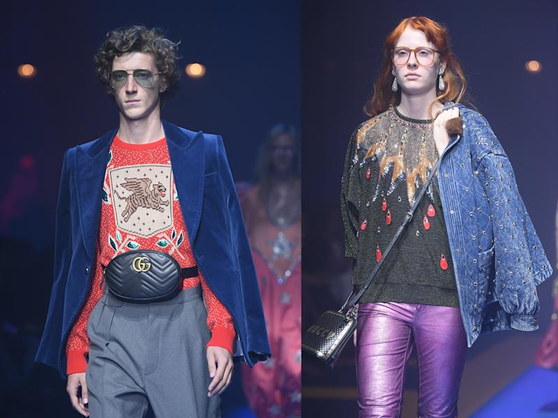 346f07d9bcc Fanny packs were all over the Gucci spring-summer 2018 runway