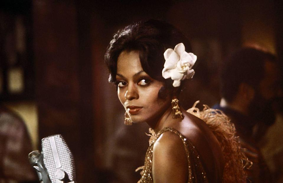 <p>Diana Ross pivoted into acting in 1972, landing her first starring role in <em>Lady Sings the Blues</em>. Ross also released a soundtrack for the film of the same name, which was a hit.</p>