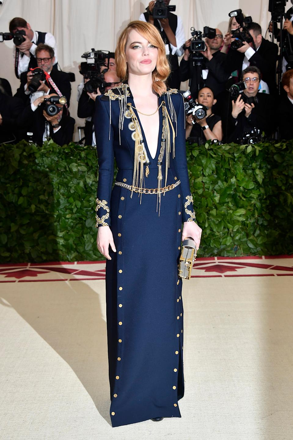 """<h1 class=""""title"""">Emma Stone in Louis Vuitton</h1><cite class=""""credit"""">Photo: Getty Images</cite>"""