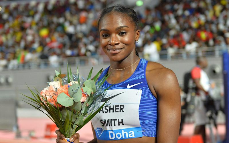 Dina Asher-Smith is among Britain's brightest athletics stars - REX