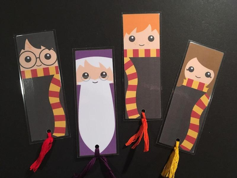 """<a href=""""https://fave.co/2OOagfv"""">Harry Potter Bookmarks, Handmade By Bizzie Bee, Etsy,</a> &pound;3 (Photo: Huffington Post UK )"""