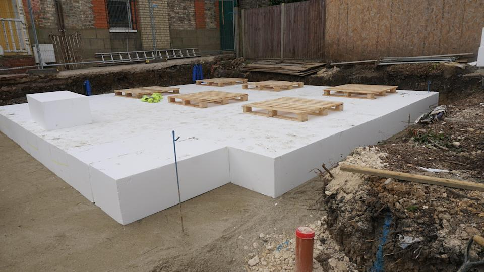 Exacting eco specifications: Wilson hopes to achieve Passivhaus certifications on his home (Morley von Sternberg)