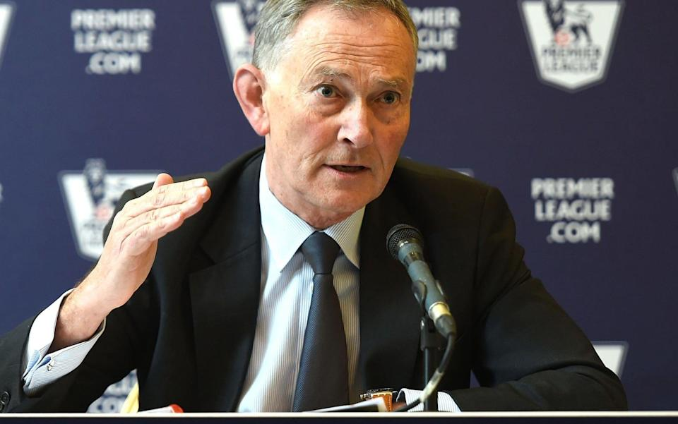 Premier League executive chairman Richard Scudamore to stand down after almost 20 years in charge at end of year