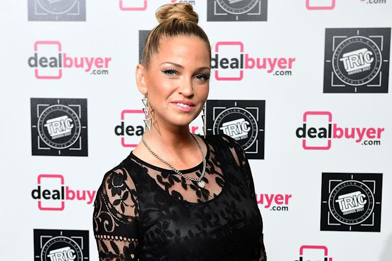 Friendship: Sarah Harding has opened up about Cheryl: Ian West/PA