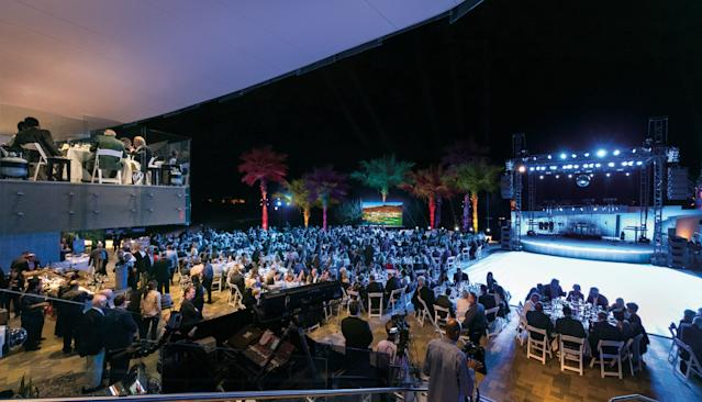 """<h1 class=""""title"""">Bighorn Golf Club clubhouse Event Terrace (2).jpg</h1> <div class=""""caption""""> Nope this is not the scene at an electronic-dance concert. It's the outdoor event space at Bighorn. </div> <cite class=""""credit"""">Mark Davidson</cite>"""