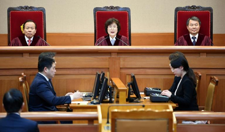 When South Korea's Constitutional Court ousted Park Geun-Hye from the presidency, she also lost protection from criminal indictment
