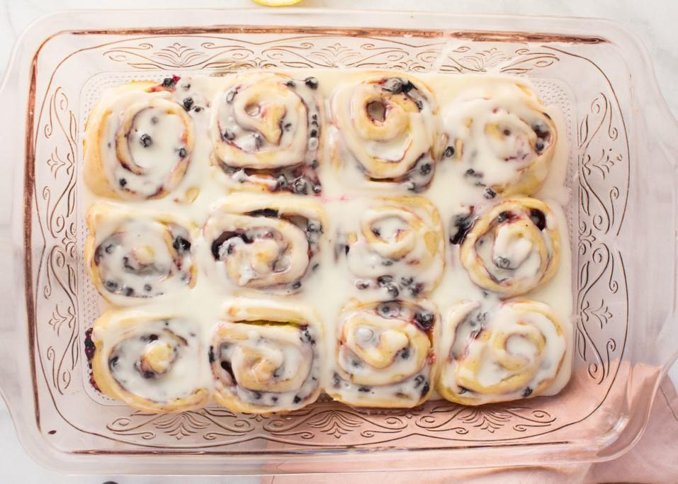"<p>Sweet, tangy and fresh from the oven — does it get any better? These rolls are made with a store-bought lemon curd filling so you can spend more time making homemade dough, which is totally worth it. Not only do these smell like a <a href=""https://www.thedailymeal.com/best-dessert-shop-place-america-every-state?referrer=yahoo&category=beauty_food&include_utm=1&utm_medium=referral&utm_source=yahoo&utm_campaign=feed"">pastry shop</a>, but they look like they're from one, too. </p> <p><a href=""https://www.thedailymeal.com/best-recipes/brunch-blueberry-lemon-sweet-rolls?referrer=yahoo&category=beauty_food&include_utm=1&utm_medium=referral&utm_source=yahoo&utm_campaign=feed"">For the Blueberry Lemon Sweet Rolls recipe, click here</a>.</p>"
