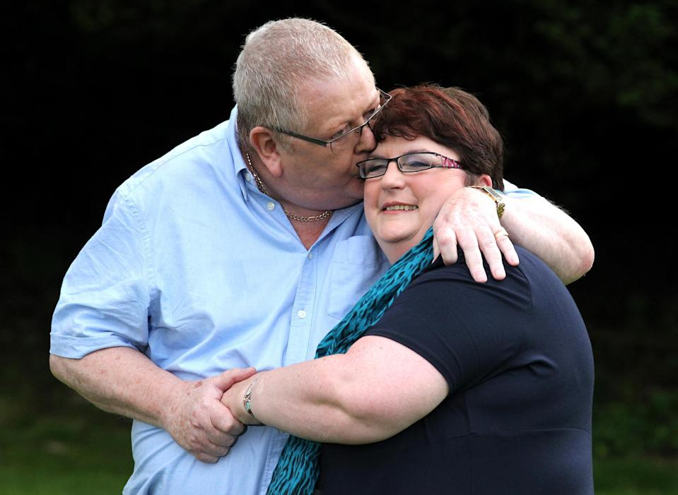 Colin and Chris Weir, from Largs in Ayrshire, are Europe's biggest Lottery winners with their £161 million prize. (PA Images)