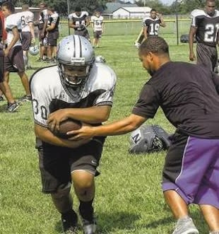 Northwest High fullback Brittany Lindon in practice — The Advertiser