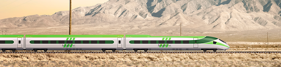 """During the 2021 High Desert Real Estate Symposium, a """"Brightline West Panel"""" is scheduled to discuss the high-speed passenger rail project between Apple Valley and Las Vegas."""