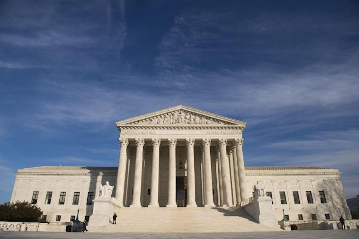 The U.S. Supreme Court is seen in Washington, DC, on January 31, 2017.