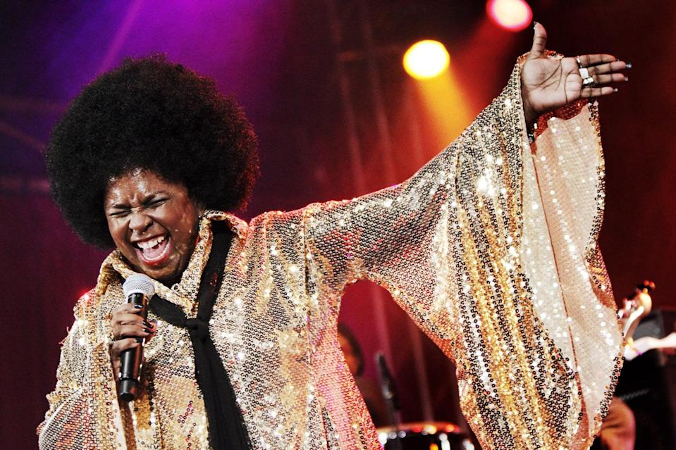 """<p>On May 10, the <a href=""""https://variety.com/2020/music/news/betty-wright-soul-rb-singer-dead-dies-1234603031/"""" class=""""link rapid-noclick-resp"""" rel=""""nofollow noopener"""" target=""""_blank"""" data-ylk=""""slk:Grammy-winning soul singer died from cancer"""">Grammy-winning soul singer died from cancer</a> at age 66. She's known for hits such as """"Tonight Is the Night,"""" """"No Pain, No Gain,"""" and """"Clean Up Woman.""""</p>"""