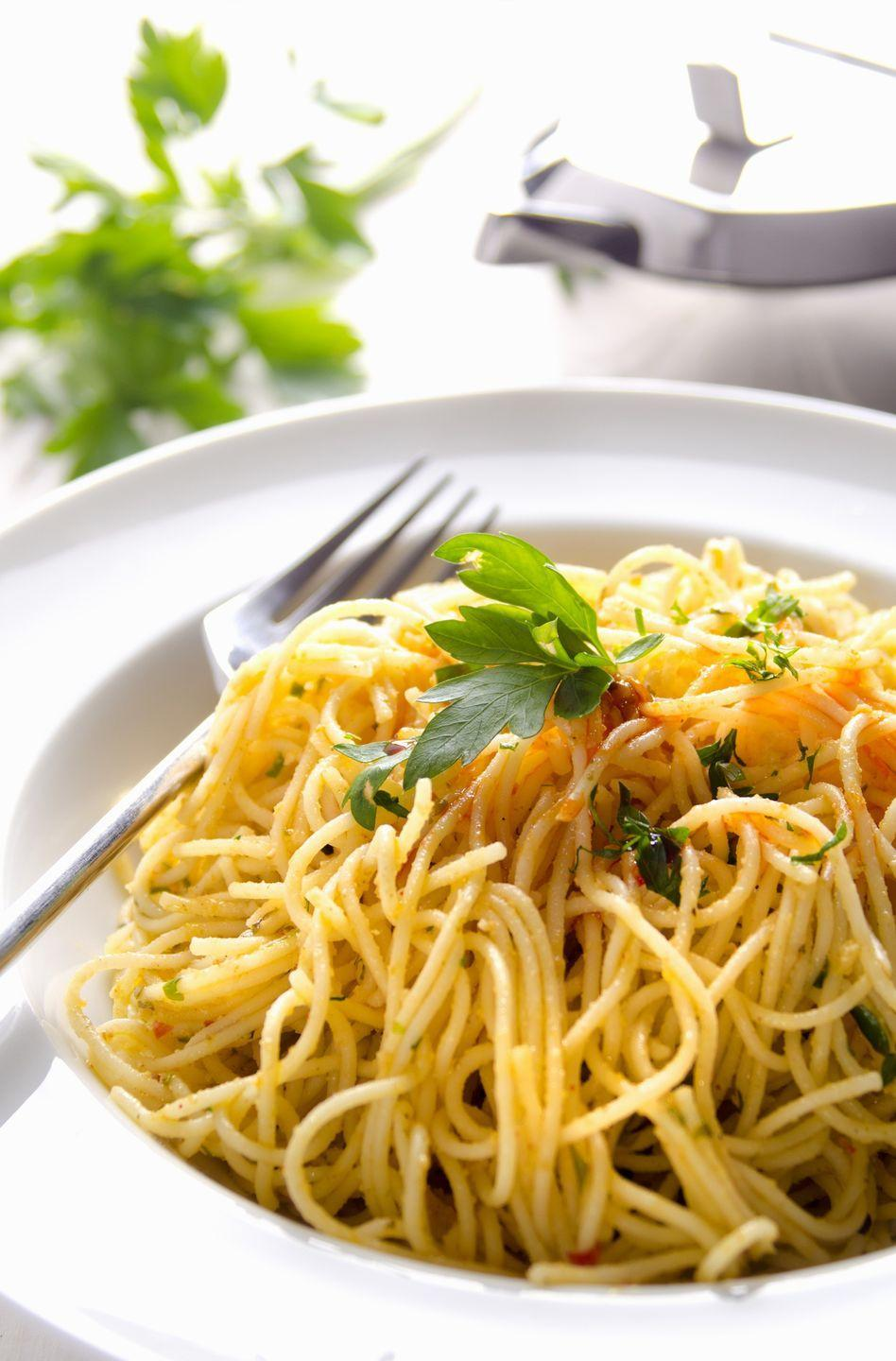 <p>Light sauces tend to work best with capellini pasta, as these won't weigh it down as much.</p>