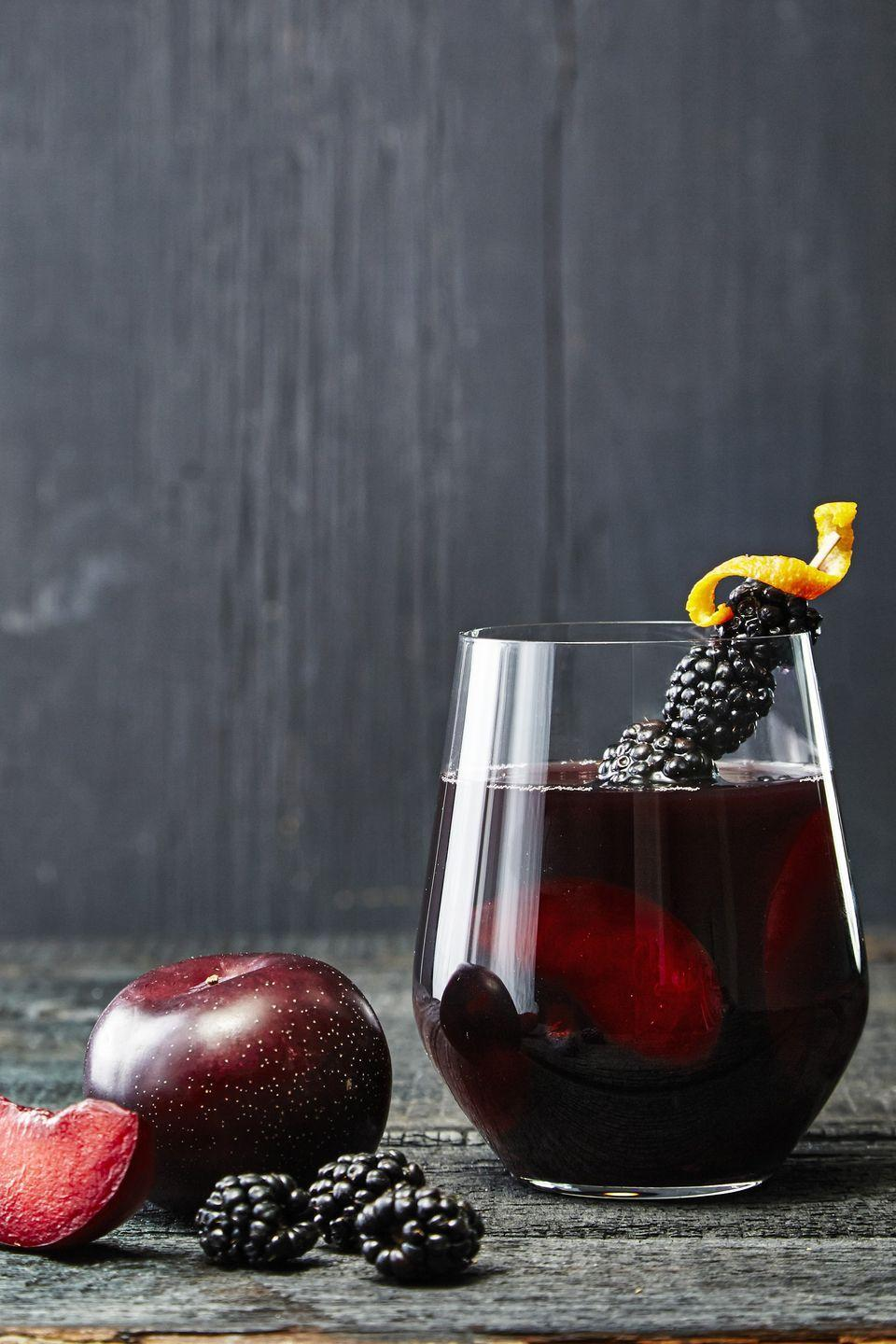 "<p>This bewitching brew works well with any dark, sweet juice (Pomegranate is our favorite!).</p><p><a href=""https://www.goodhousekeeping.com/food-recipes/a40524/black-magic-punch-recipe/"" rel=""nofollow noopener"" target=""_blank"" data-ylk=""slk:Get the recipe for Black Magic Punch »"" class=""link rapid-noclick-resp""><em>Get the recipe for Black Magic Punch »</em></a></p>"