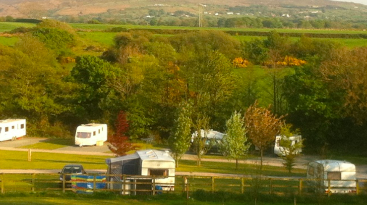 Incident: Police have arrested two men after a vehicle careered into tents at the site (Google Maps)