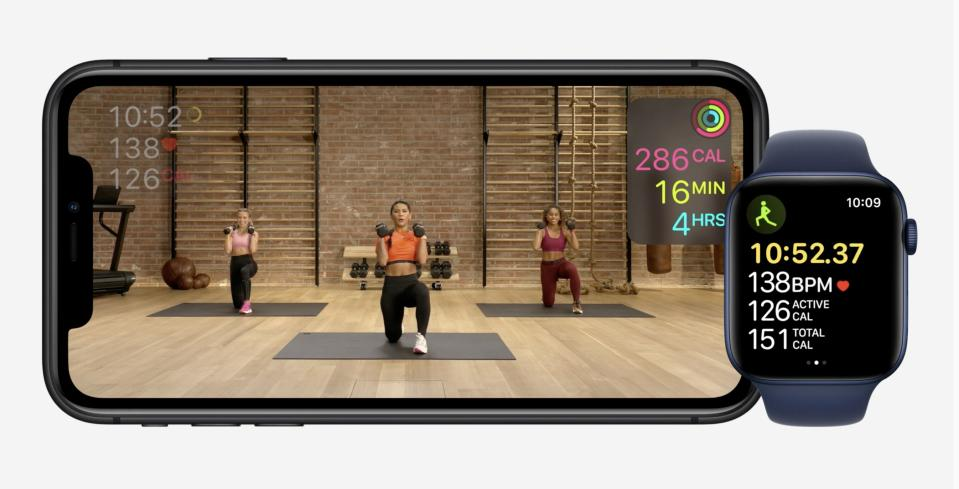 Apple hardware event-fitness