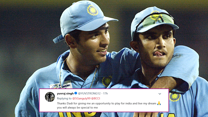 Yuvraj Singh Calls Sourav Ganguly, 'Dadi' on Twitter After Former India Captain Tweets on His Retirement