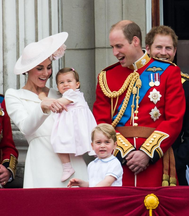 The couple are already parents to Prince George and Princess Charlotte. Photo: Getty Images