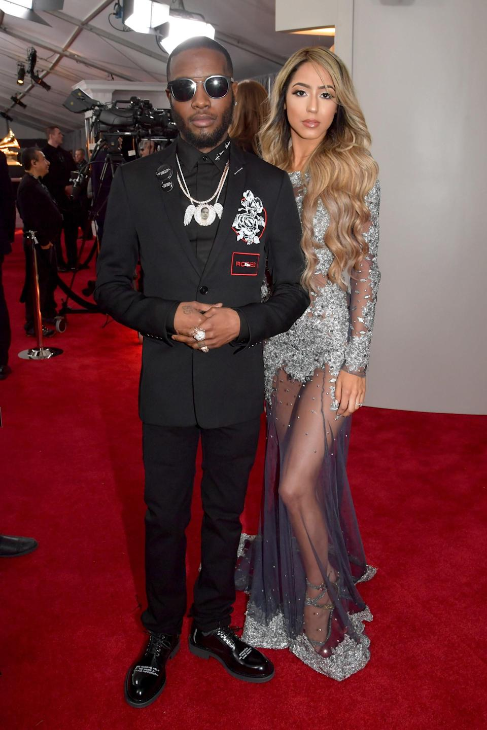 """<h1 class=""""title"""">Shy Glizzy in Dior Homme and Blaidy G</h1><cite class=""""credit"""">Photo: Getty Images</cite>"""