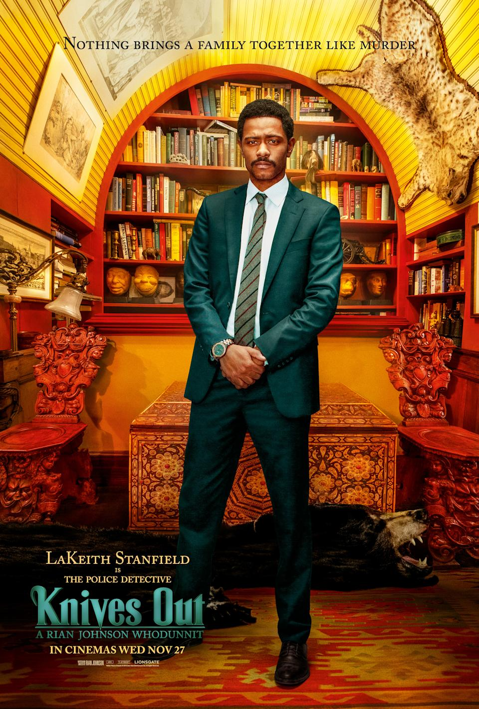 Sorry To Bother You's Lakeith Stanfield as Lt. Elliot.
