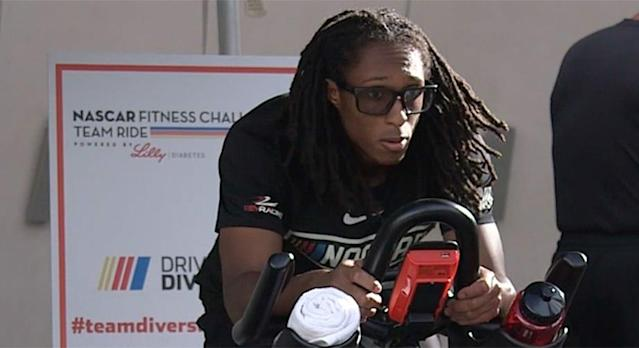 Stewart-Haas Racing won the 2018 NASCAR Fitness Challenge Powered by Lilly Diabetes, earning a $15,000 donation to its charity, while Roush Fenway Racing won $5,000 for its charity after winning the social media competition. Ten teams competed Thursday at the plaza outside the NASCAR Hall of Fame, riding stationary bikes in teams of four riders. …