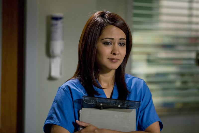"ER -- ""Life After Death"" Episode 1501 -- Air Date 09/25/2008 -- Pictured: Parminder Nagra as Neela Rasgotra -- Photo by: Joel Warren/NBCU Photo Bank"