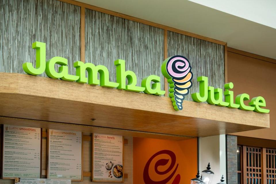 a jamba juice marquee