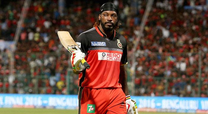 Gayle, Chahal star as Bangalore beat Gujarat by 21 runs