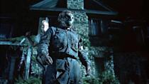 """<p><strong><em>Jason Goes to Hell: The Final Friday</em></strong></p><p>A zombie-fied Jason Voorhees terrorizes the teens at Camp Crystal Lake — while being hunted by a man dead-set on destroying him. </p><p><a class=""""link rapid-noclick-resp"""" href=""""https://www.amazon.com/Jason-Goes-Hell-Final-Friday/dp/B001353Y72/?tag=syn-yahoo-20&ascsubtag=%5Bartid%7C10055.g.29120903%5Bsrc%7Cyahoo-us"""" rel=""""nofollow noopener"""" target=""""_blank"""" data-ylk=""""slk:WATCH NOW"""">WATCH NOW</a></p>"""
