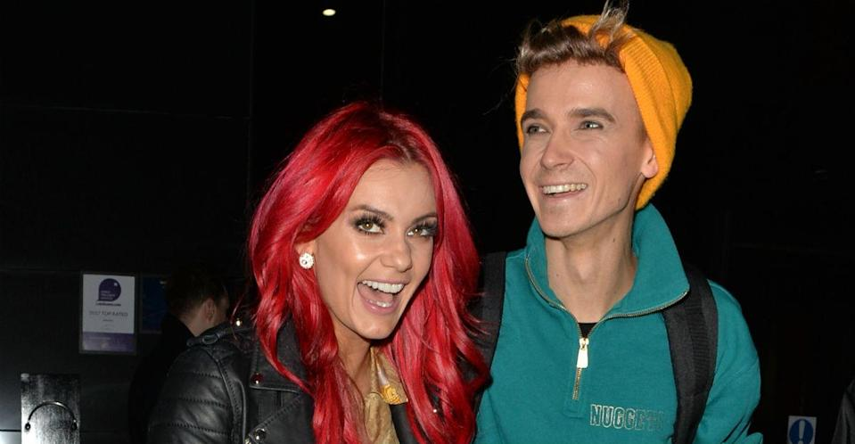 Dianne Buswell and Joe Sugg found romance during the latest series of Strictly Come Dancing (Getty)
