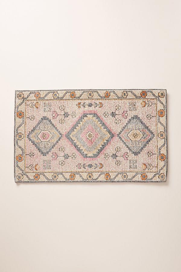 """<h3><a href=""""https://www.anthropologie.com/shop/jules-bath-mat"""" rel=""""nofollow noopener"""" target=""""_blank"""" data-ylk=""""slk:Anthropologie Jules Bath Mat"""" class=""""link rapid-noclick-resp"""">Anthropologie Jules Bath Mat</a></h3><br>The most wanted decor item thus far in 2020? This luxe-looking bath mat that serves as a fast, easy, and <a href=""""https://www.refinery29.com/en-us/kitchen-counter-decor"""" rel=""""nofollow noopener"""" target=""""_blank"""" data-ylk=""""slk:affordable fix for elevating your space"""" class=""""link rapid-noclick-resp"""">affordable fix for elevating your space</a> when real-deal Persian threads are far too expensive. <br><br><strong>Anthropologie</strong> Jules Bath Mat, $, available at <a href=""""https://www.anthropologie.com/shop/jules-bath-mat"""" rel=""""nofollow noopener"""" target=""""_blank"""" data-ylk=""""slk:Anthropologie"""" class=""""link rapid-noclick-resp"""">Anthropologie</a>"""
