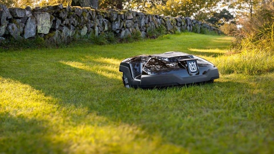 Depending on which model you choose, Husqvarna's robot lawn mowers can trim your grass for anywhere from an hour to 4 hours at a clip. And they're so quiet they won't even annoy your neighbors.