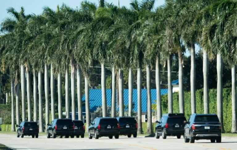 US President Donald Trump has many fans in and around Palm Beach, Florida, site of his famed Mar-a-Lago resort, but some locals have grown irritated by the checkpoints and road detours necessary during his visits