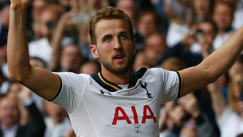 Four-goal Kane eyes golden boot after crushing Leicester